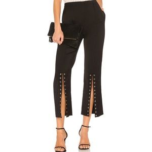 Endless Rose Black Flared Pants